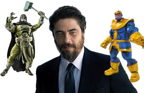 Benicio del Toro se une a Guardianes de la Galaxia ¿ Thanos o Ronan ?
