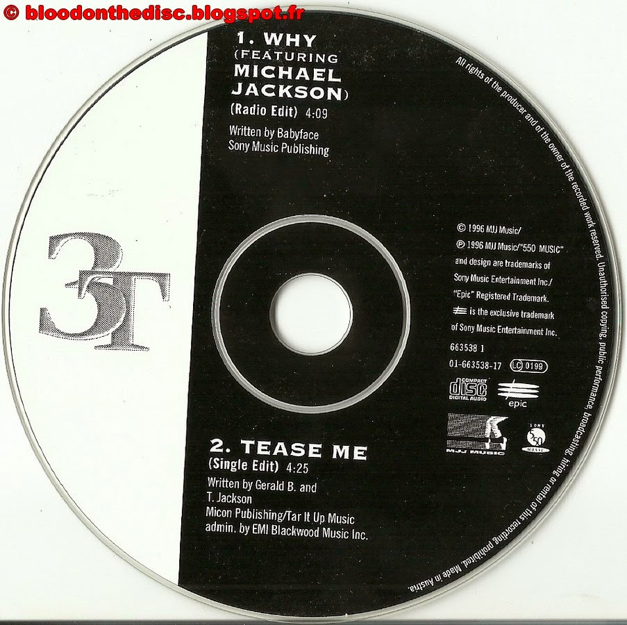 CD Why Single 3T Michael Jackson
