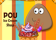 Pou Ice Cream Shop