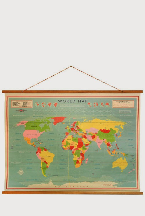 http://www.pierrotetcoco.com/vintage-style-hanging-wall-map/