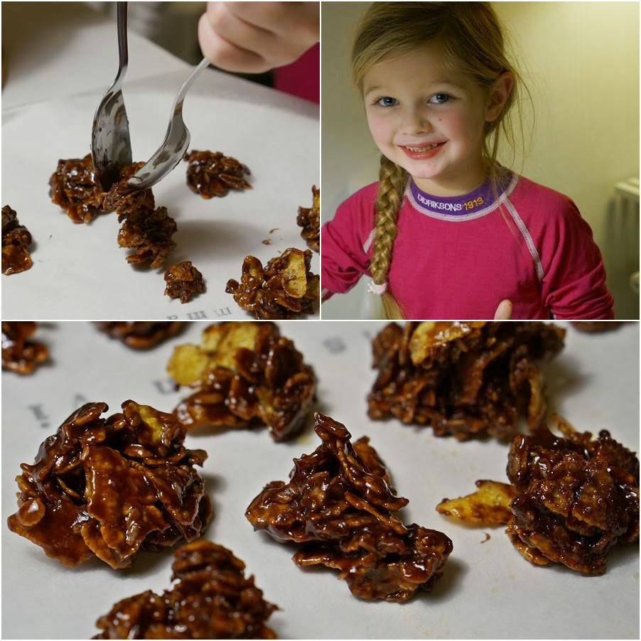 cornflakes choklad toppar