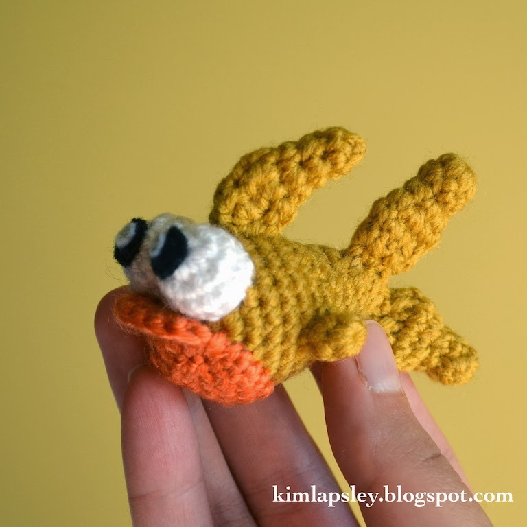Kim Lapsley Crochets: Baby Fish