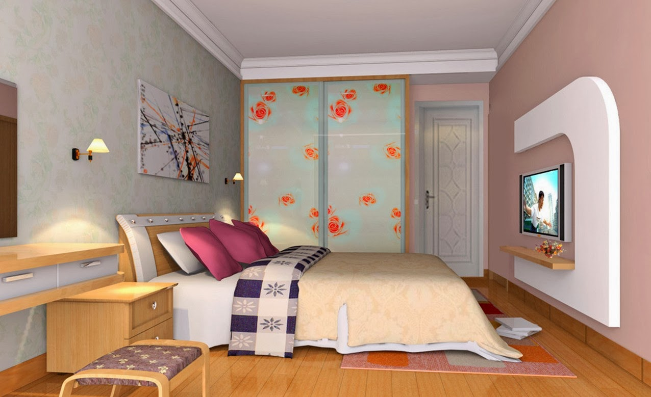 Foundation dezin decor 3d bedroom models for 3d wallpaper of bedroom