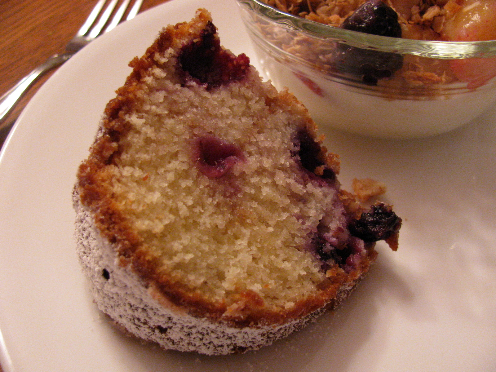 Blueberry Sour Cream Coffee Cake | Family Heritage Recipes