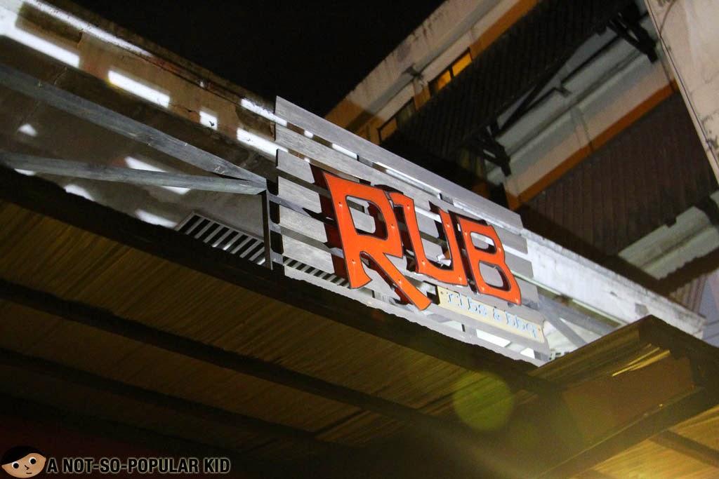 Rub Ribs & BBQ - Restaurant Signage
