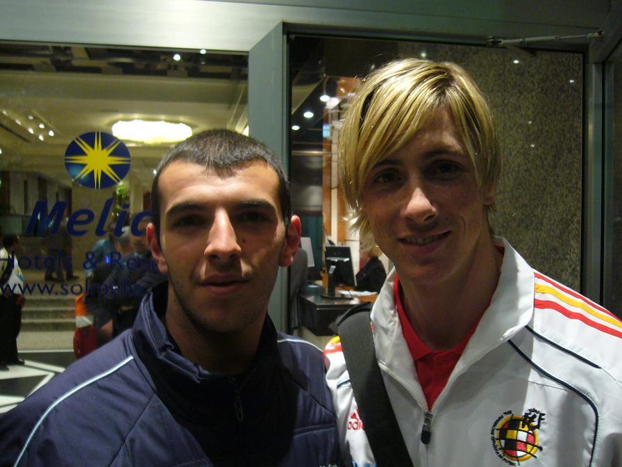 ¿Cuánto mide Fernando Torres? - Real height Fernando+Torres