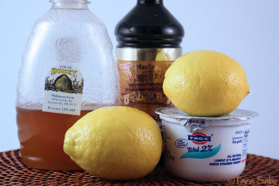 Homemade yogurt recipe ingredients