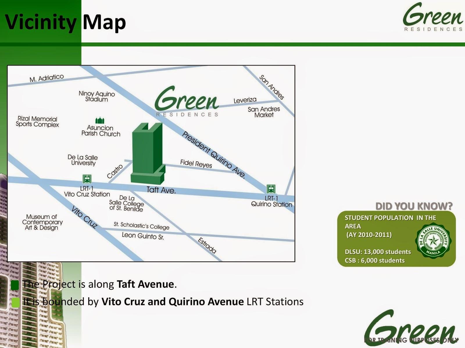 Green Residences - Taft, Manila