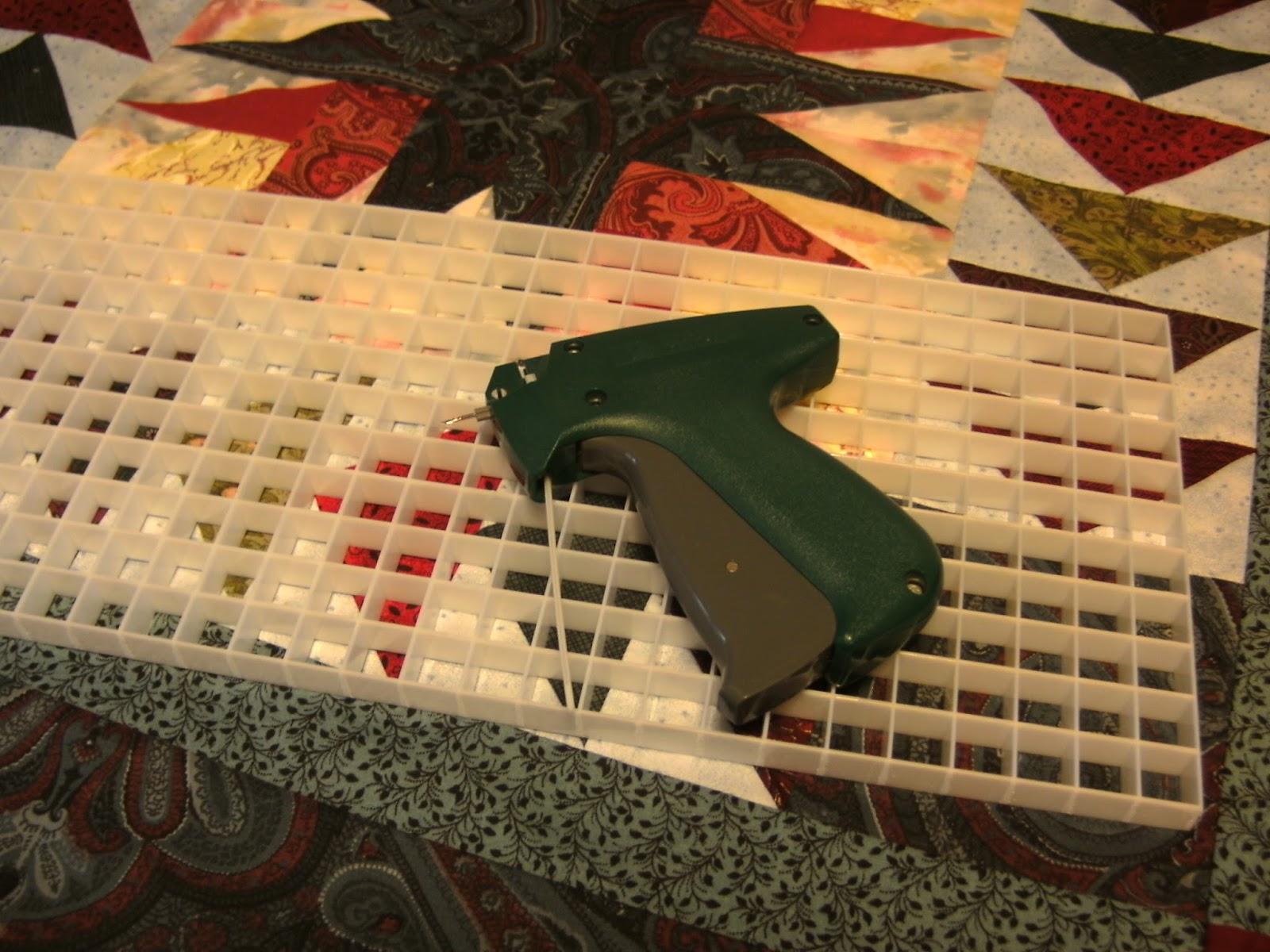 Granny's Button Box: Friendship Quilt & Basting Grid Review : quilt basting gun - Adamdwight.com