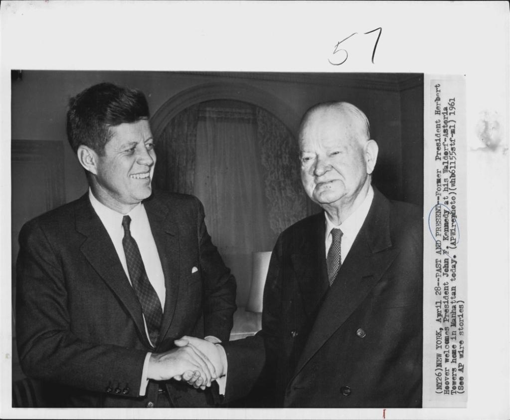 JFK & Herbert Hoover