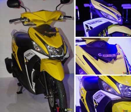 yamaha mio m3 kuning (trending yellow)