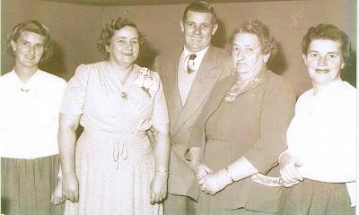 1953  at dulcies 40th