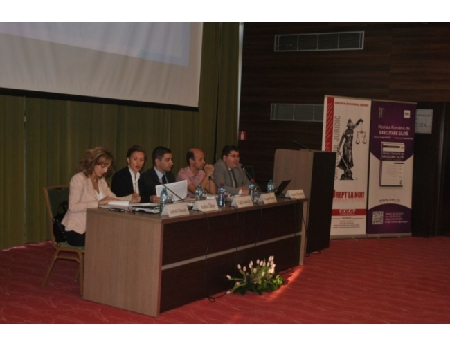 "A treia editie a conferintei ""Executarea silita in reglementarea NCPC"" - Iasi 25.10.2014"
