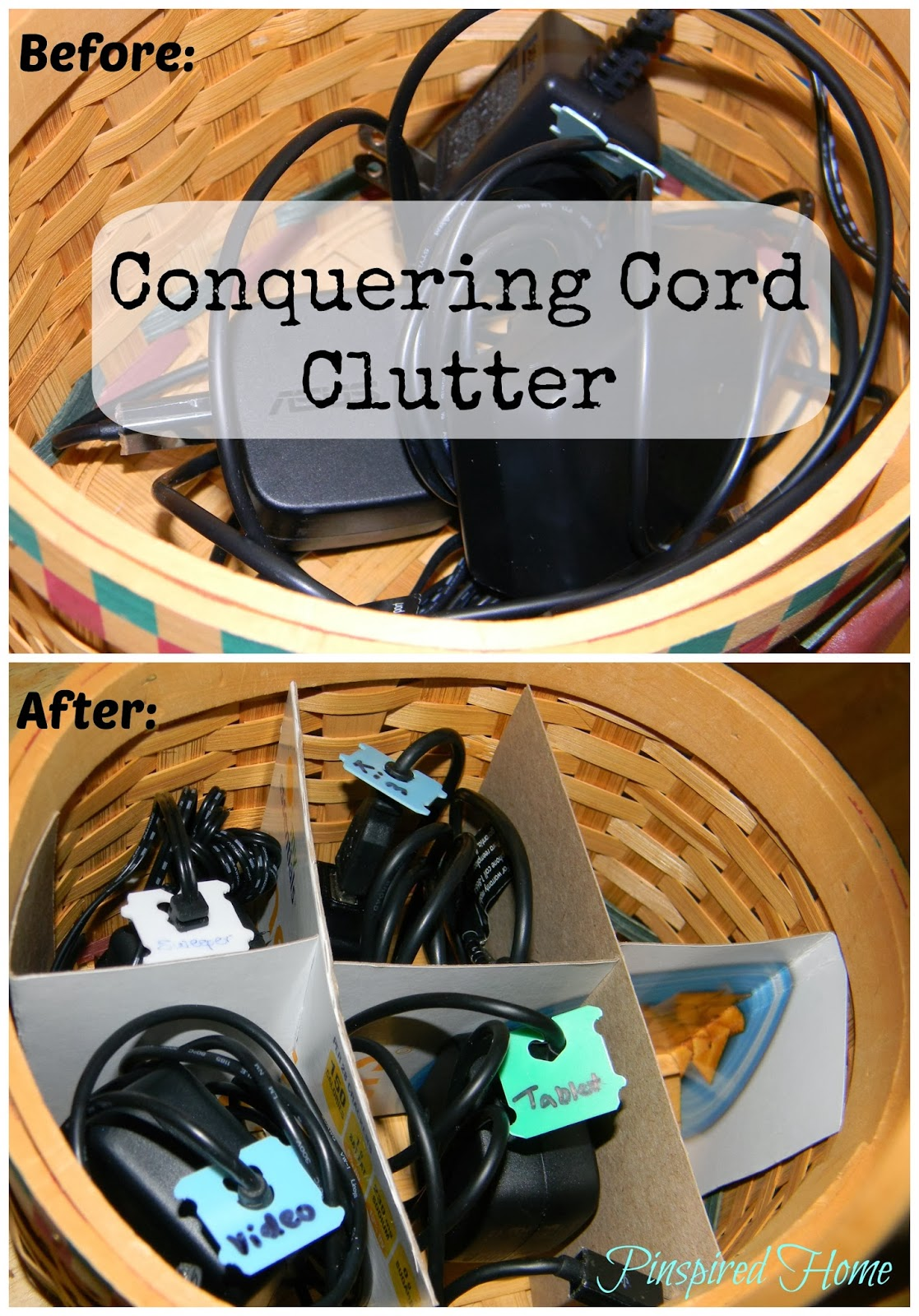 http://pinspiredhome.blogspot.com/2013/10/containing-cord-clutter.html
