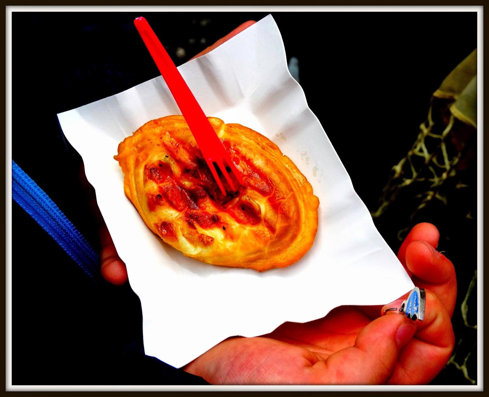 Targ Śniadaniowy, Park Krakowski, grillowany oscypek