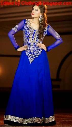 Wedding wear maxi dresses 2015 2016 fancy suitable amp stylish