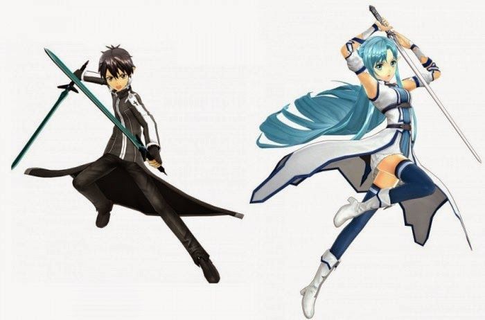 karakter game sword art online lost song
