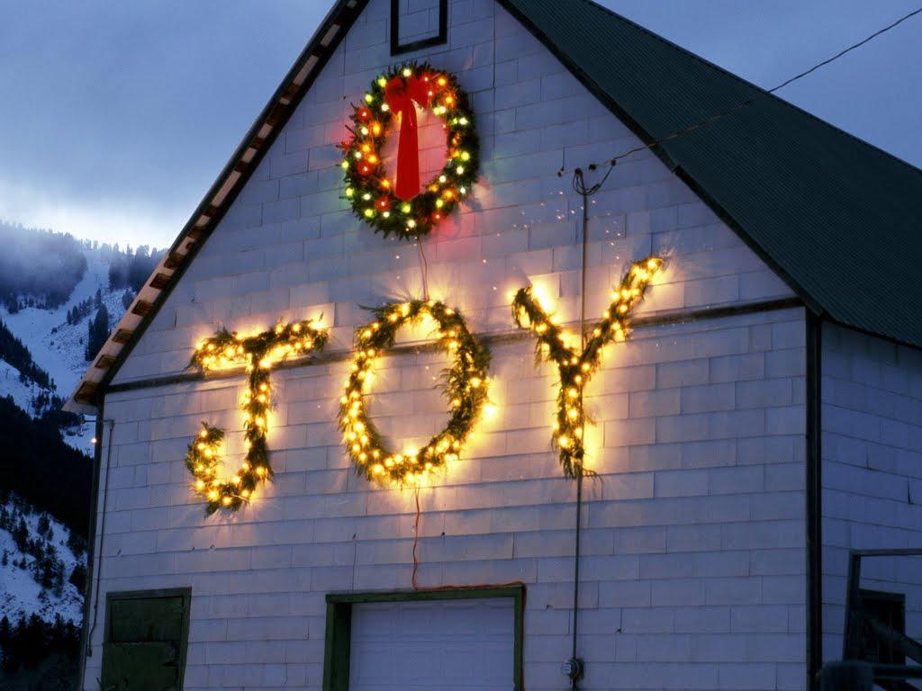 Folks Listen Singing Christmas Joy
