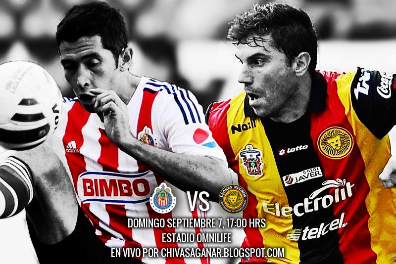 Chivas vs Leones Negros - Jornada 3 Apertura 2014.