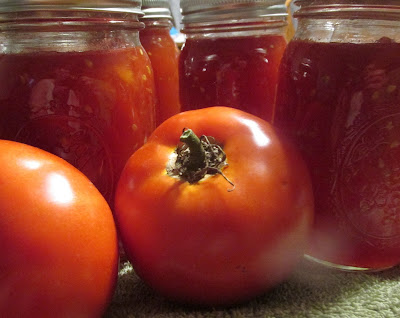 Canned Tomato Jam-Vickie's Kitchen and Garden