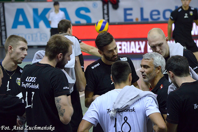 Anastasi Lotos Trefl Gdańsk trener