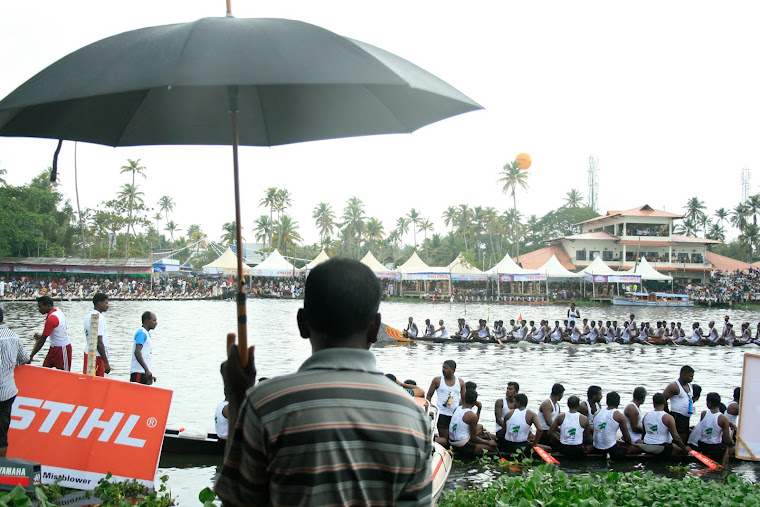 Famous Onam Boat Race in August