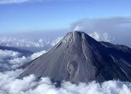 bentuk-bentuk gunung api