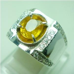 lp518 batu permata natural yellow sapphire biasa disebut batu permata