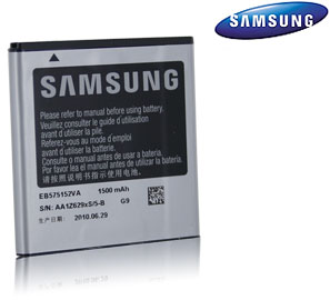 Samsung Standard 1500mAh Battery for Captivate