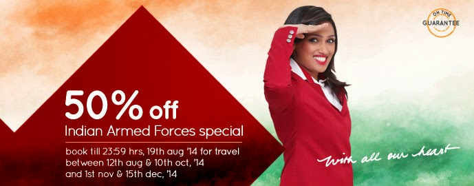 Spicejet Indian Armed Forces Special