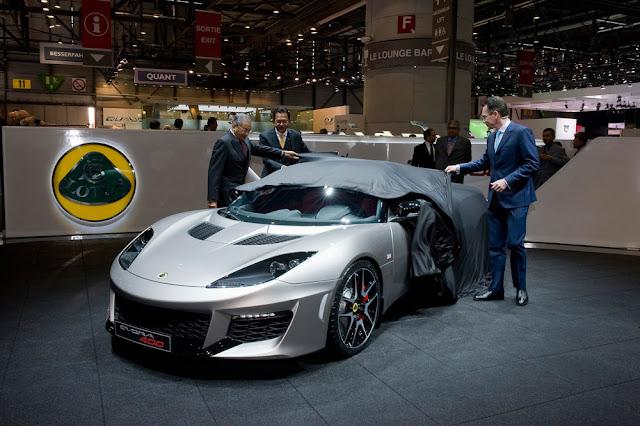 Lotus Evora 400 Roadster