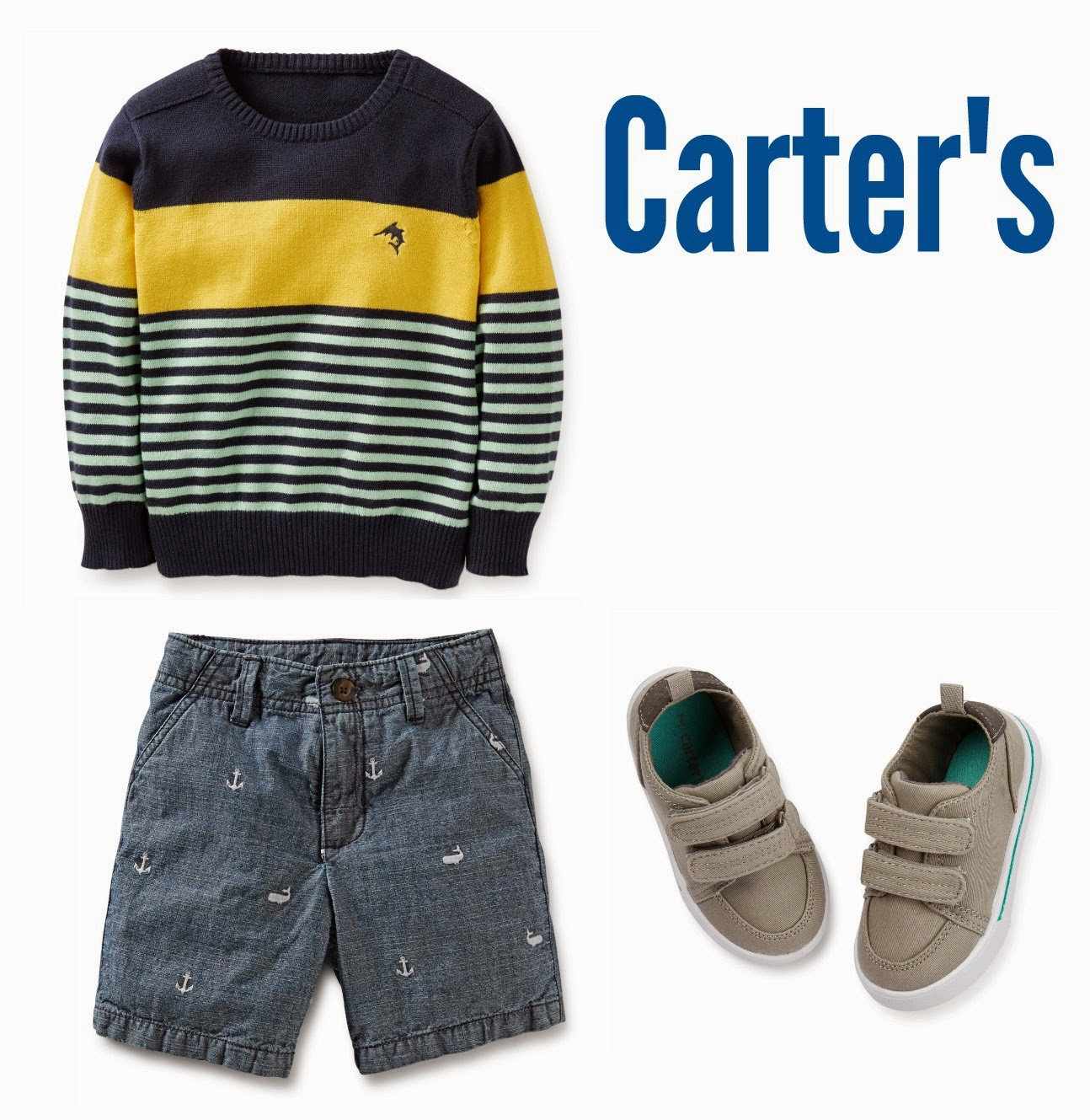 Carter's Boys Easter Outfit