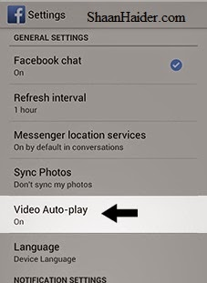 HOW TO : Stop the Auto-Play Facebook Videos on Android Devices