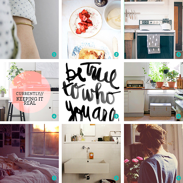 Pinterest Moodboard // Currently // Keeping It Real Inspiration