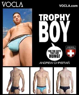 Andrew Christian Trophy Boy collection