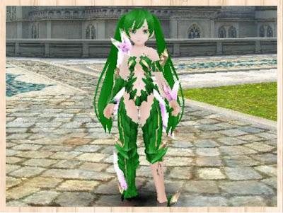結晶の鎧 緑1