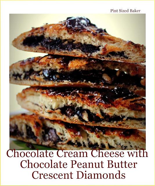 ... Baker: Chocolate Cream Cheese and Chocolate Peanut Butter Diamonds
