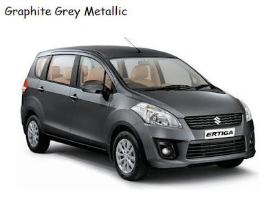 ertiga graphite grey