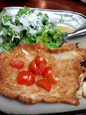 Pork Schnitzel at &SONS Singapore