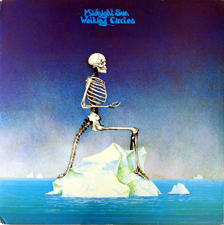 Midnight Sun - Walking Circles album cover