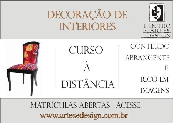 Centro de artes e design curso de decora o de interiores for Curso de interiorismo a distancia