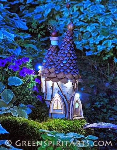 kora szyszki - lampka