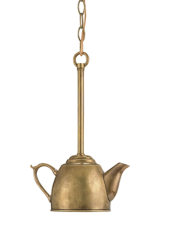 tea kettle pendant light