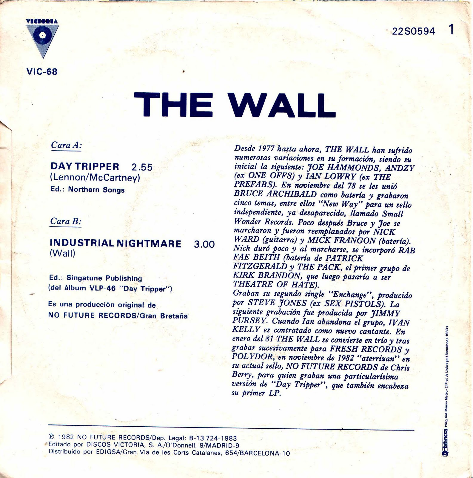 The Wall Day Tripper