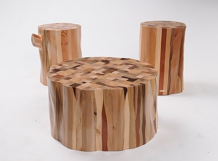 The Wake furniture collection from Ubico Studio
