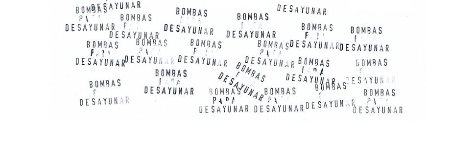 BOMBAS PARA DESAYUNAR // Microeditorial de fanzines
