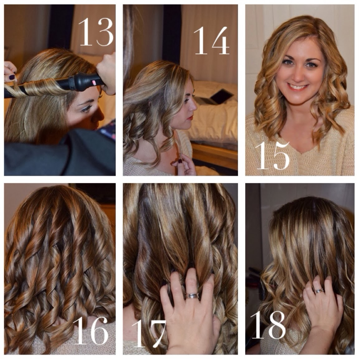 Pleasantly Petite Fashion Lifestyle Blog How To Styling Wand Curls