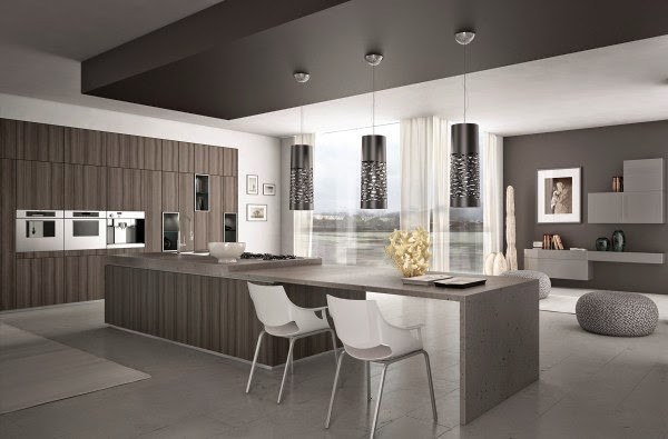 Cool modern minimalist kitchen designs and ideas Kitchen design light grey