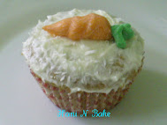 Carrot Almond Cupcakes