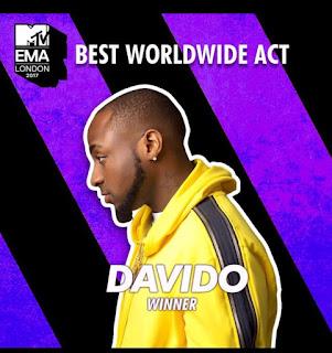 Best Worldwide Act - Davido